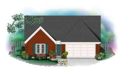 Traditional Style House Plans Plan: 6-132