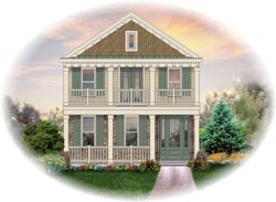 Southern Style Floor Plans Plan: 6-1320