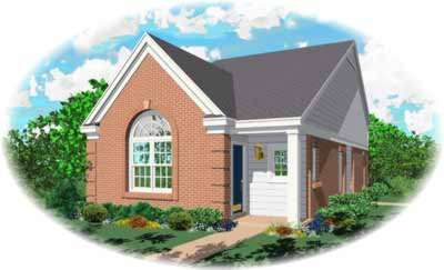 Traditional Style Home Design Plan: 6-135