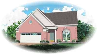 Southern Style Floor Plans Plan: 6-139