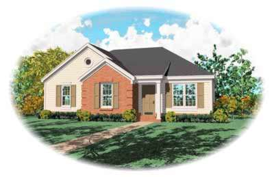 Traditional Style House Plans Plan: 6-142