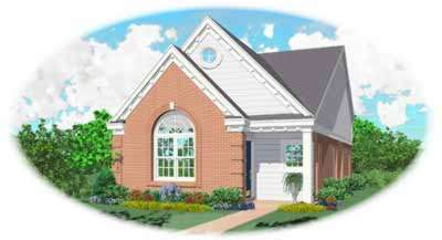 Southern Style Floor Plans Plan: 6-143