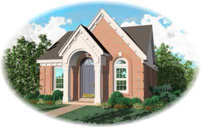Traditional Style Home Design Plan: 6-145