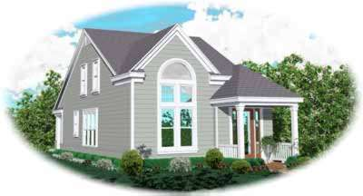 Traditional Style Floor Plans Plan: 6-153