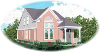 Traditional Style Floor Plans Plan: 6-156