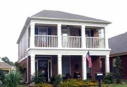 Plantation Style House Plans Plan: 6-1604