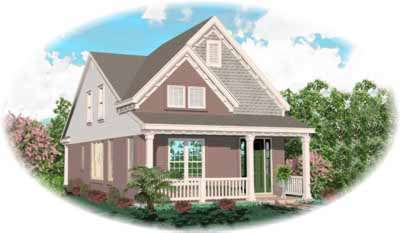 Traditional Style Floor Plans Plan: 6-162