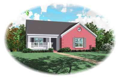 Traditional Style Floor Plans Plan: 6-167