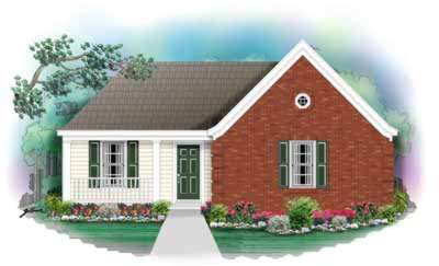Traditional Style Floor Plans Plan: 6-168