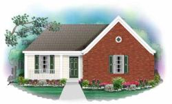 Traditional Style Home Design Plan: 6-168