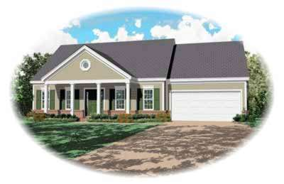 Southern Style House Plans Plan: 6-172