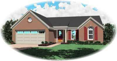Traditional Style House Plans Plan: 6-175