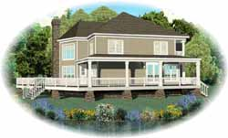 Traditional Style House Plans Plan: 6-1758
