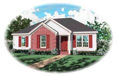 Traditional Style Home Design Plan: 6-176