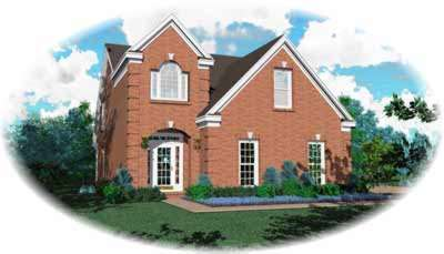 Traditional Style House Plans Plan: 6-178