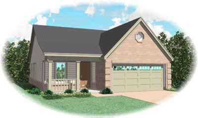 Country Style House Plans Plan: 6-181
