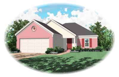 Ranch Style House Plans Plan: 6-184