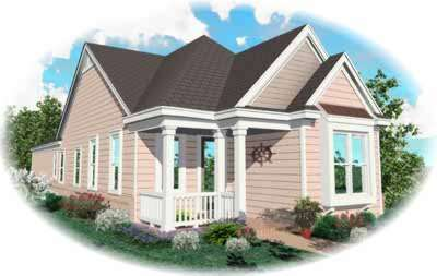 Southern Style Floor Plans Plan: 6-191