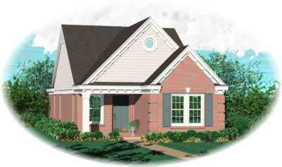 European Style House Plans 6-192
