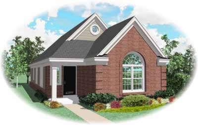 European Style House Plans Plan: 6-195