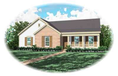 Ranch Style House Plans Plan: 6-200