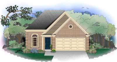 Southern Style Home Design Plan: 6-205