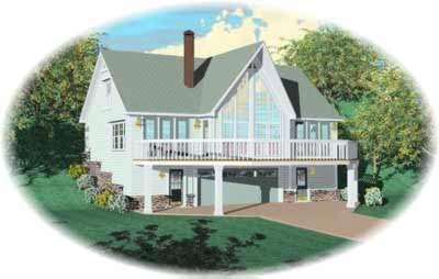Contemporary Style Home Design Plan: 6-209