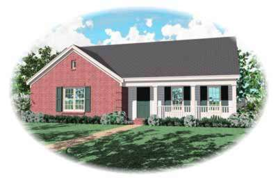 Country Style Floor Plans Plan: 6-226
