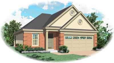 European Style House Plans Plan: 6-233