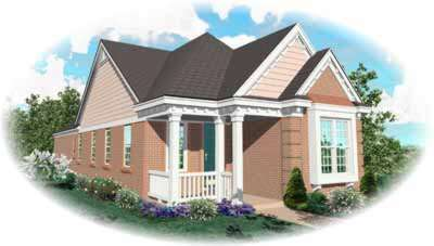 Cottage Style Floor Plans Plan: 6-234