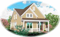 Country Style House Plans Plan: 6-235