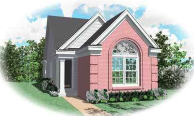 European Style House Plans Plan: 6-241