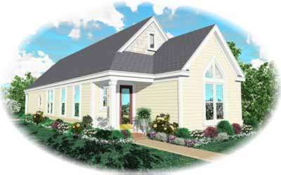 Cottage Style House Plans Plan: 6-243