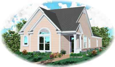 Traditional Style Home Design 6-248
