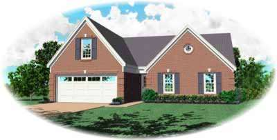 Southern Style House Plans Plan: 6-255