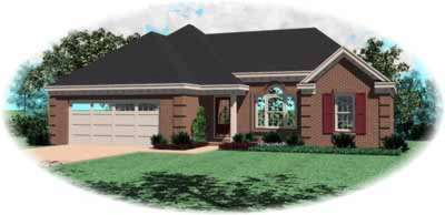 Traditional Style House Plans Plan: 6-261