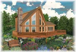 Coastal Style House Plans Plan: 6-263