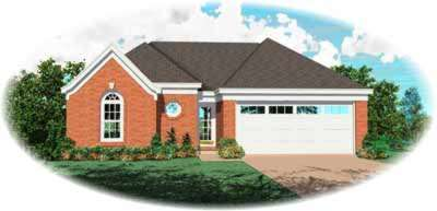 Traditional Style Home Design Plan: 6-265