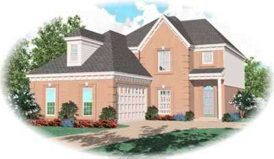 European Style House Plans Plan: 6-267