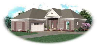 Southern Style House Plans Plan: 6-277