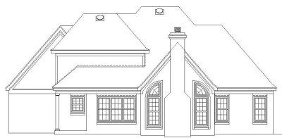 Rear Elevation Plan: 6-279