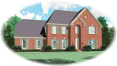 Traditional Style House Plans Plan: 6-308