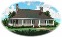 Country Style Floor Plans Plan: 6-313