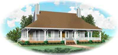 Country Style House Plans Plan: 6-314