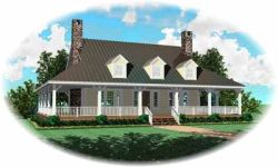 Country Style House Plans 6-315