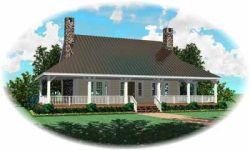 Country Style Floor Plans 6-316