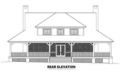 Rear Elevations Plan:6-318
