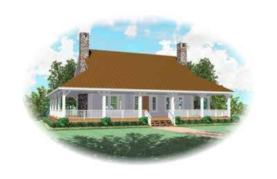 Country Style House Plans Plan: 6-319