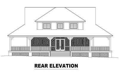 Rear Elevations Plan:6-321