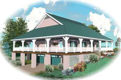 Country Style House Plans Plan: 6-326